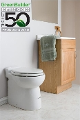 Sanicompact 48 One-Piece Toilet and Macerator