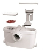 NEW Saniflo SaniAccess 3 Macerating Pump & Elongated Toilet Kit