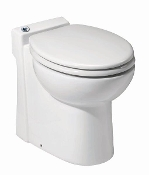 Saniflo Sanicompact 48 One-Piece UpFlush Toilet and Macerator