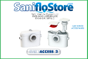 Saniflo Saniaccess 2 Upflush Macerator Pump